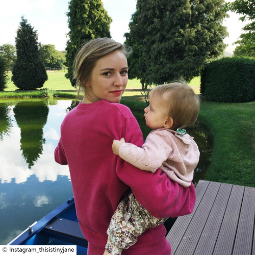 Little Post_Mum Blogs Tiny Jane Pullover pink
