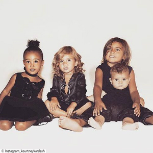 Little Post_Promi Eltern Kardashian Kids