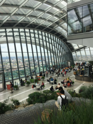 Little Post_Travel Diary London Skygarden