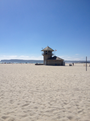 Little Post_San Diego Reisetagebuch Strand