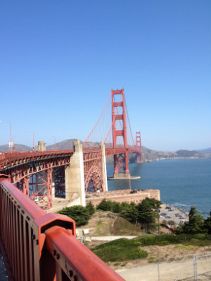 Little Post_Travel Diary San Francisco Golden Gate Bridge